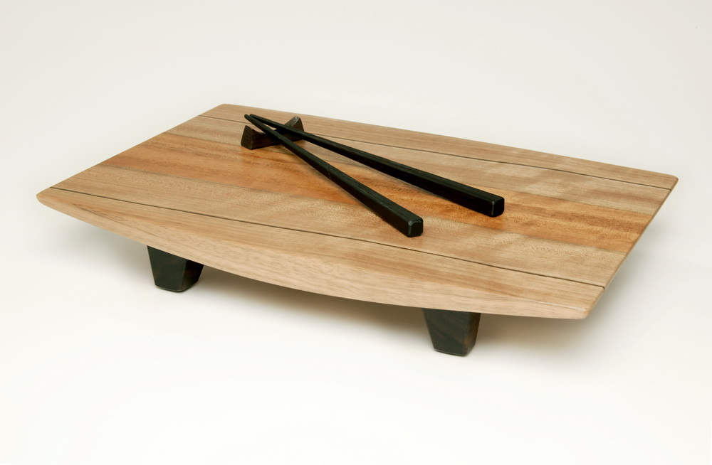 Sushi Display Tray by Roger Combs
