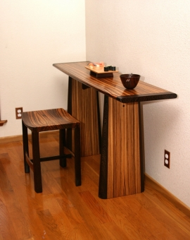 Console Entry Table by Roger Combs