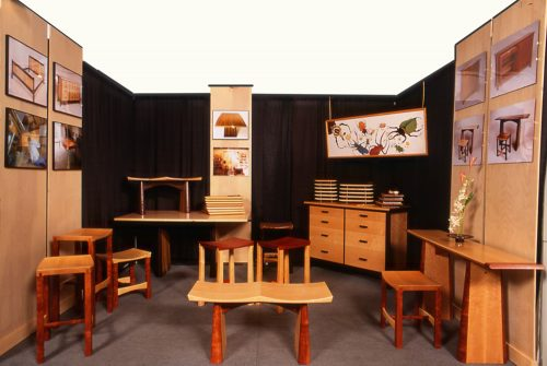 Roger Combs Woodworker Booth